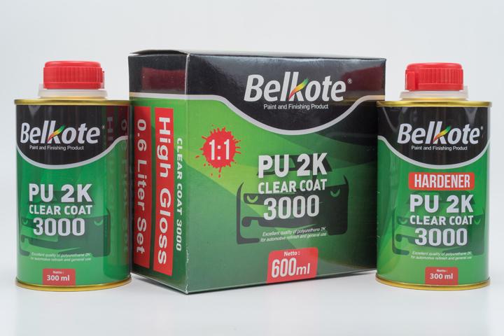 Belkote PU 2K Clear Coat 3000 – Belkote
